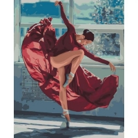 "Картина по номерам ""Танец огня"" Идейка. 35308"