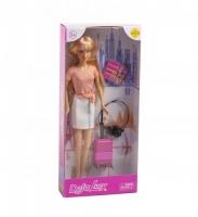 """Кукла """"Defa: путешественница"""" (в розовом) DEFA. 38351"""