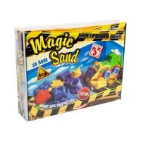 """Кинетический песок """"Magic Sand"""" с экскаватором Strateg. 39417"""