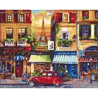 "Картина по номерам ""Улицами Парижа"" Идейка. 35319"