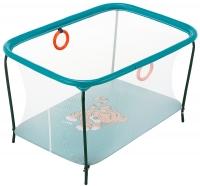 Манеж Qvatro LUX-02 мелкая сетка  морская волна (tiger). 34222