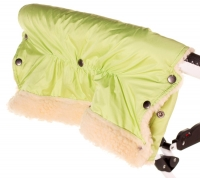 Муфта Умка M01 (ткань-плащевка) для рук на коляску  салатовый. 34375