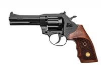 Револьвер под патрон Флобера Alfa mod.441 ворон/дерево. 14310046