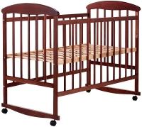 Кровать Наталка ОТ  ольха темная. 34127