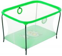 Манеж Qvatro LUX-02 мелкая сетка  зеленый (owl). 34216