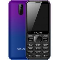 Мобильный телефон Nomi i284 Violet-Blue. 45330