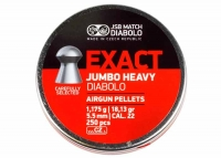 Пули пневматические (для воздушки) 5,5мм 1,175г (250шт) JSB Diabolo Exact Jumbo Heavy. 14530530