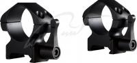 Кольца быстросъемные Hawke Precision Steel. Диаметр 25.4 мм. Высота основания - 9 мм. На планку Weaver. 39860091