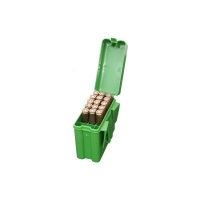 Коробка MTM на 20 патронов кал. 222 Rem - 222 Mag. Цвет - зеленый. 17730625