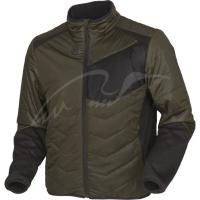 Куртка Harkila Heat Control. Размер - 2XL. Цвет - черный/зелёный. 17800805