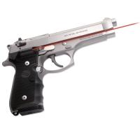 Лазерный целеуказатель Crimson Trace LG-402M на рукоять для BERETTA 92/96/M9. Цвет - Красный. 24120003
