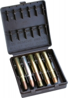 Коробка MTM African Big Game Ammo Carrier на 10 патронов кал. 378, 416, 470, 500NE. Цвет – коричневый. 17730854