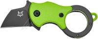 Нож Fox Mini-TA ц: зеленый. 17530442