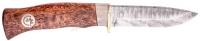 Нож Karesuandokniven Hunter 10 Damask Northern Light. 12730018