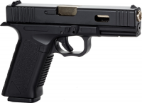 Пистолет пневматический SAS G17 (Glock 17) Blowback. Корпус - пластик. 23702657
