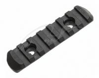 Планка Magpul MOE Polymer Rail Weaver/Picatinny на 7 ячеек пластиковая. 36830062