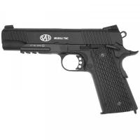 Пистолет пневматический SAS (M1911 Tactical) Blowback. Корпус - металл. 23701429