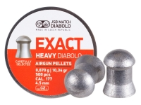 Пули пневматические (для воздушки) 4,5мм 0,67г (500шт) JSB Diabolo Exact Heavy. 14530523
