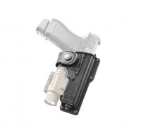 Кобура Fobus для Glock-19/23 с подствольным фонарем. 23702320