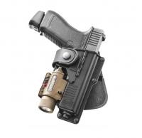 Кобура Fobus для Glock-19/23 с подствольным фонарем. 23702319