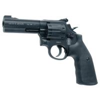 Револьвер под патрон Флобера Alfa mod.441 ворон/пластик. 14310045