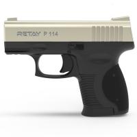 Пистолет стартовый Retay P114 кал. 9 мм. Цвет - satin. 11950328