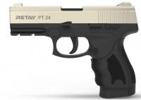 Пистолет стартовый Retay PT24 кал. 9 мм. Цвет - satin. 11950340