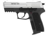 Пистолет стартовый Retay S20 кал. 9 мм. Цвет - chrome. 11950616