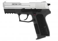 Пистолет стартовый Retay S20 кал. 9 мм. Цвет - nickel. 11950617