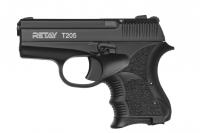 Пистолет стартовый Retay T205 кал. 8 мм. Цвет - black. 11950825
