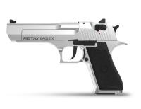 Пистолет стартовый Retay X1 кал. 9 мм. Цвет - chrome. 11950431