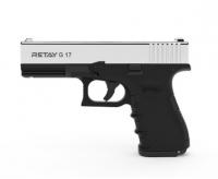 Пистолет стартовый Retay X1 кал. 9 мм. Цвет - nickel. 11950432