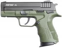 Пистолет стартовый Retay X1 кал. 9 мм. Цвет - olive. 11950804