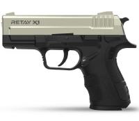 Пистолет стартовый Retay X1 кал. 9 мм. Цвет - satin. 11950433