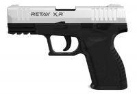 Пистолет стартовый Retay XR кал. 9 мм. Цвет - chrome. 11950342