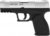 Пистолет стартовый Retay XR кал. 9 мм. Цвет - nickel. 11950343
