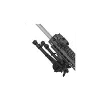 Сошки TipTop S9NTactical (шарнирная база+панорама, ступенчатые ноги) длина 17,7-26,6 см. 14530334