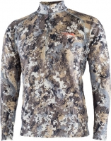 Термосвитер Sitka Gear Merino Heavyweight Half-Zip. Размер - 2XL. Цвет: Elevated II. 36821526